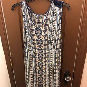 Long summery maxi dress
